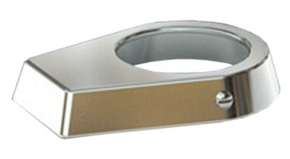 CHROME PLATED BRASS ESCUTCHEON PE-0019-CPB