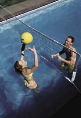 COMMERCIAL VOLYBALL W/ ANCHORS (30-36') POOLS VOLYC32