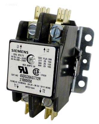 CONTACTOR  2P  35AMP  240 21000650