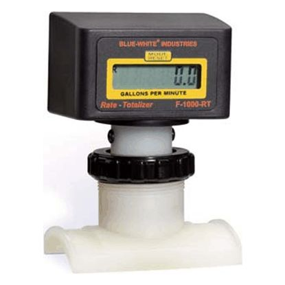 F1000 FLOWMETER SADDLEMOUNT 4IN SCHED 40 100 TO 1000 GPM  RB-400S4-GPM1