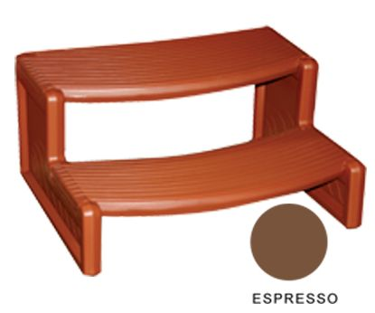 HANDI STEP 2 ESPRESSO STRAIGHT OR CURVED COMBO LEISURE  HS2E