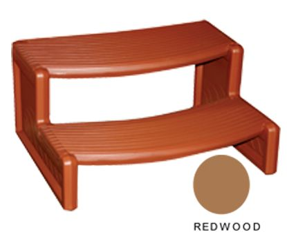 HANDI STEP 2 REDWOOD STRAIGHT OR CURVED COMBO LEISURE  HS2R