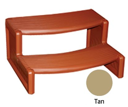 HANDI STEP 2 TAN STRAIGHT OR CURVED COMBO LEISURE ACCENTS HS2T