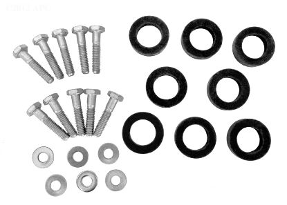HEAT EXCHANGER HARDWARE KIT WITH GASKETS R0454500
