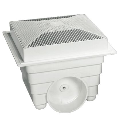 LAWSON 12INX12IN SUMP AND GRATE WHITE 2 PACK MLD-SG-1212-WT2