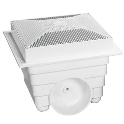 LAWSON 18INX18IN SUMP AND GRATE WHITE 2 PACK MLD-SG-1818-WT2