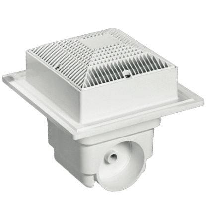 LAWSON 9INX9IN SUMP AND GRATE WHITE 2 PACK MLD-SG-0909-WT2