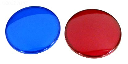 LIGHT LENS KIT  1 RED  1 BLUE 630-0005B
