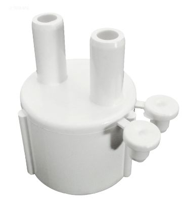 MANIFOLD 1IN SKT X TWO 3/8IN BARB PORTS WITH 2 PLUGS 672-4020
