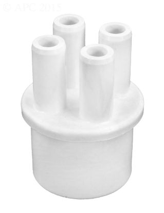 MANIFOLD 1IN SPIGOT X FOUR 3/8IN BARB PORTS 672-4030