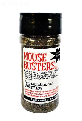 MOUSE BUSTER COVER POWDER PROTECTANT RETAIL PACKAGE MBCR
