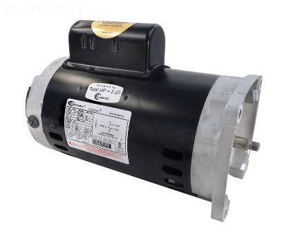 MOTOR 2/.3 HP 230V 2 SPEED SQ FLANGE 56Y FRAME FULL RATED B985