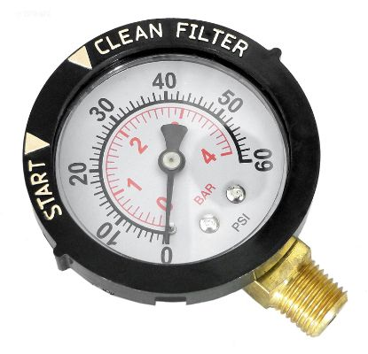PRESSURE GAUGE LOWER 190058