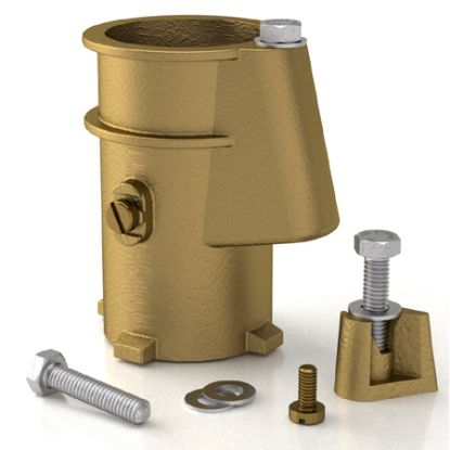 4IN ANCHOR SOCKET BRONZE 1.9IN PERMACAST HANOVER CLONE PS-4019-BC