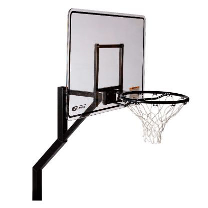 ROCKSOLID EXTENDED REACH BBALL GAME COMM GRADE W/ ANCHOR  S-BASK-ERS-ER