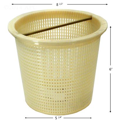 SKIMMER BASKET PENTAIR / AMERICAN INGROUND ADMIRAL PLASTIC  V38-125