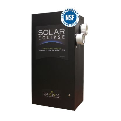 SOLAR ECLIPSE OZONE UV SANITIZER 240V 50K GAL OUTDOOR 2IN  SEC-100-26