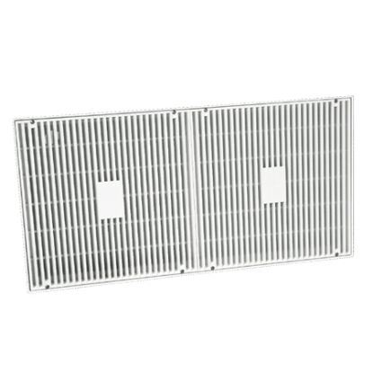 LAWSON 18INX36IN FRAME AND GRATE WHITE MLD-FG-1836-W1