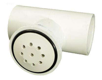 TOP-FLO AIR INJECTOR  1INTEE - WHITE 670-2320