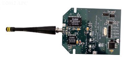 TRANSCEIVER CIRC. BOARD W/ATTACHED ANTENNA 520341