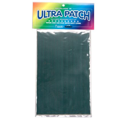 ULTRA PATCH SAFETY COVER PATCH 5.75IN X 9IN 2 PAK GREEN MESH BP2661