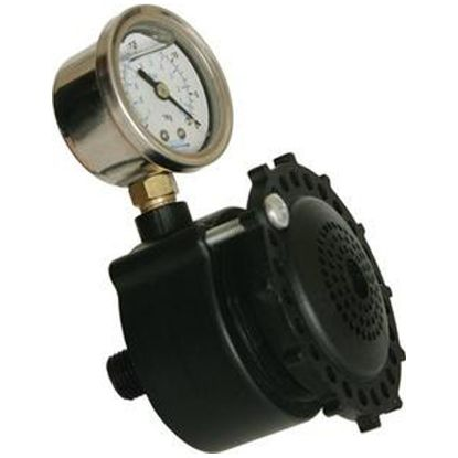 VACLESS ADJUSTABLE SWITCH W/ PRESSURE GAUGE AUTOMATIC  SVRS-10ADJ