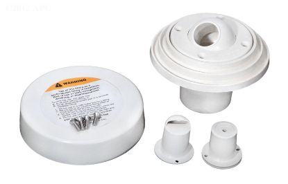 WALL INLET FITTING INSIDER CONCRETE STARITE WHITE 1.50IN  08429-0000